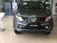 Cần bán Mitsubishi Triton đời 2018, màu xám (ghi), nhập khẩu nguyên chiếc , giá tốt tại Đà Nẵng giá 666 triệu tại Đà Nẵng