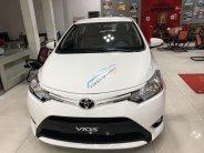 Bán Toyota Vios 1.5E CVT, màu trắng khuyến mãi lớn dịp khai trương giá 505 triệu tại Tp.HCM