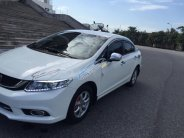 Cần bán gấp Honda Civic 1.8 AT 2015, màu trắng chính chủ giá 635 triệu tại Hà Nội