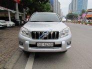 Bán Toyota Prado 2010 màu bạc giá 1 tỷ 120 tr tại Hà Nội