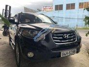 Bán Hyundai Santa Fe SLX đời 2010, màu đen   giá 730 triệu tại Vĩnh Long