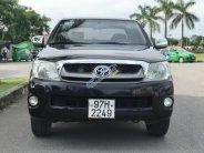 Cần bán lại xe Toyota Hilux năm 2009 màu đen, giá chỉ 348 triệu, nhập khẩu giá 348 triệu tại Hà Nội