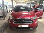 Bán Ford EcoSport 1.5 AT Titanium 2018, màu đỏ, biển TP, zin 100%, odo 800km, lăn bánh đúng 1 tháng, giá TL, hỗ trợ trả góp giá 656 triệu tại Tp.HCM