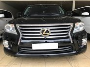 Bán Lexus LX570 Xuất Mỹ xe sản xuất 2014 đăng ký 2015 màu đen nội thất nâu da bò giá 4 tỷ 920 tr tại Hà Nội
