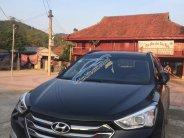 Bán nhanh xe chính chủ Hyundai Santa Fe 2.4 AT 2WD sản xuất năm 2016, màu đen, 850 triệu giá 850 triệu tại Hà Nội