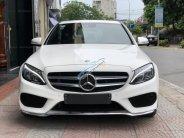 Bán ô tô Mercedes C250 AMG sản xuất 2015, màu trắng giá 1 tỷ 450 tr tại Hà Nội