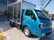 Bán xe Kia K200 thùng kín, màu xanh, hỗ trợ trả góp giá 343 triệu tại Tp.HCM