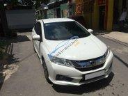 Gia đình cần tiền bán gấp Honda City AT 2015, màu trắng giá 495 triệu tại Tp.HCM