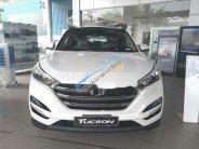 Cần bán xe Hyundai Tucson 2.0 AT đời 2018, màu trắng giá cạnh tranh giá 920 triệu tại Vĩnh Long