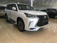 Lexus LX570 Super Sport S Trung Đông 2018 màu trắng nội thất da bò giá 9 tỷ 300 tr tại Hà Nội