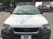Bán Ford Escape XLT AT 3.0 2 cầu điện 4x4 số tự động, đk 2002, màu trắng giá 165 triệu tại Hà Nội