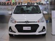 Hyundai Grand I10 1.2 MT màu trắng, khuyến mãi 50tr, còn 370tr, đưa 120tr nhận xe giá 370 triệu tại Tp.HCM