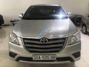 Bán xe Toyota Innova 2.0E năm 2015 màu bạc, giá tốt, LH: 0985102300 - 0942596555 giá 590 triệu tại Hà Nội