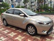 Bán ô tô Toyota Vios 1.5G (CVT) đời 2017, màu ghi vàng giá 590 triệu tại Hà Nội