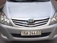 Bán Toyota Innova đời 2009, màu bạc, số sàn, tư nhân chính chủ, chạy chuẩn 8 vạn, sai cho xe luôn giá 370 triệu tại Hà Nội