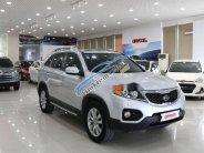 Cần bán gấp Kia Sorento 2.4AT sản xuất năm 2013, màu bạc   giá 629 triệu tại Hà Nội