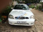 Bán Daewoo Lanos sản xuất 2002, màu trắng, xe đẹp giá 95 triệu tại Đắk Lắk