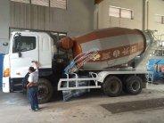 Bán ô tô Hino trộn bê tông đời 2012, màu trắng, nhập khẩu giá 1 tỷ 90 tr tại Tp.HCM