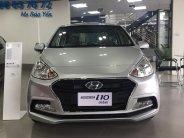 Hyundai I10 Sedan 2 đầu màu bạc - trả góp - đưa trước 120tr -> nhận xe ngay!  giá 390 triệu tại Tp.HCM