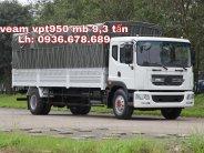 Giá xe tải veam vpt950 9t3 (9 tấn 3) rẻ nhất thị trường, thùng dài 7m6 giá 723 triệu tại Hà Nội