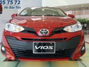 Xe Toyota Vios màu đỏ xe mới 2019, xe có sẵn giao ngay.  giá 606 triệu tại Tp.HCM