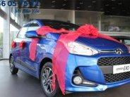 Bán xe I10 1.2 số tự động màu xanh, xe có sẵn giao liền với nhiều ưu đãi giá 405 triệu tại Tp.HCM