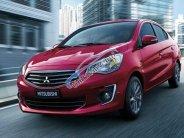 Cần bán Mitsubishi Attrage CVT đời 2018, màu đỏ, nhập khẩu nguyên chiếc giá 476 triệu tại Quảng Bình