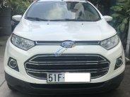 Bán Ford EcoSport Titanium 1.5 AT sản xuất năm 2015, màu trắng, có trả góp giá 530 triệu tại Tp.HCM