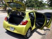 Cần bán gấp Mitsubishi Mirage đời 2015 màu vàng chanh, số tự động, nhập khẩu nguyên chiếc giá 380 triệu tại Hà Nội
