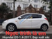 Bán Hyundai i20 1.4 đời 2011, màu trắng, cực chất và rất zin giá 348 triệu tại Hà Nội