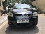 Bán xe Daewoo Gentra sản xuất 2009, màu đen chính chủ giá 180 triệu tại Hà Nội