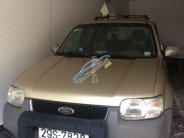 Bán ô tô Ford Escape đời 2004, màu vàng cát, xe nhập giá 195 triệu tại Hà Nội