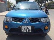 Bán ô tô Mitsubishi Triton bán tải sản xuất 2008, màu xanh lam mới 95%, giá 295tr giá 295 triệu tại Hà Nội