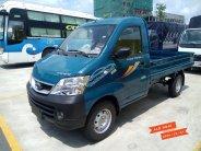 Bán xe tải 990 kg Thaco Towner 990 thùng lửng, màu xanh, động cơ Suzuki giá 216 triệu tại Tp.HCM