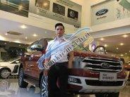 Cần bán Ford Everest sản xuất năm 2018, màu đỏ giá 1 tỷ 129 tr tại Hà Nội