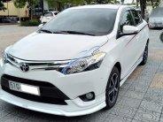 Bán xe Toyota Vios 1.5G TRD Sportivo 2017 màu trắng xe gia đình mới đi 6.277km giá 585 triệu tại Tp.HCM