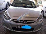 Cần bán gấp Hyundai Accent năm sản xuất 2012, màu bạc, giá 410tr giá 410 triệu tại Bình Dương