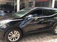 Bán xe Hyundai Santa Fe sản xuất năm 2017, màu đen như mới giá 1 tỷ 160 tr tại Hà Nội