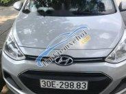 Bán xe Hyundai Grand i10 sản xuất năm 2016, màu bạc, 345tr giá 345 triệu tại Hà Nội