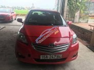 Bán Toyota Vios đời 2010, màu đỏ, giá chỉ 235 triệu giá 235 triệu tại Hải Phòng