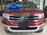 Cần bán xe Ford Everest 2.0L Bi-Turbo 4WD năm sản xuất 2018, màu đỏ giá 1 tỷ 399 tr tại Tp.HCM