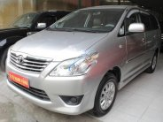 Bán xe Toyota Innova 2.0E năm sản xuất 2013, màu bạc số sàn giá cạnh tranh giá 565 triệu tại Hà Nội