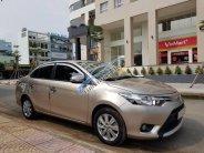 Cần bán lại xe Toyota Vios 1.5E 2016, màu vàng số tự động giá cạnh tranh giá 495 triệu tại Tp.HCM