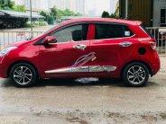 Cần bán lại xe Hyundai Grand i10 1.2AT năm 2017, màu đỏ, nhập khẩu, chủ mua từ mới giá 410 triệu tại Hà Nội