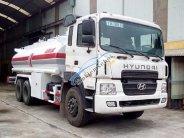 Xe chở xăng dầu Hino 15 khối, màu trắng, nhập khẩu giá 1 tỷ 100 tr tại Hà Nội