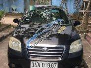 Cần bán lại xe Daewoo Gentra đời 2007, màu đen, giá 130tr giá 130 triệu tại Thái Nguyên