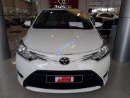 (Hãng) Bán ô tô Toyota Vios 1.5E MT đời 2017, màu trắng, giá thương lượng giá 520 triệu tại Tp.HCM