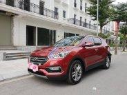 Bán Hyundai Santa Fe 2.4 sản xuất năm 2017, màu đỏ giá 1 tỷ 50 tr tại Hà Nội
