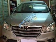 Cần bán gấp Toyota Innova năm 2016, màu bạc xe gia đình giá 586 triệu tại Tp.HCM