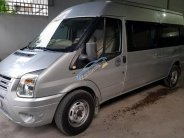 Cần bán xe Ford Transit 16 chỗ, màu bạc, đời tháng 7/2015 giá 585 triệu tại Tp.HCM